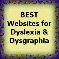 """BEST Websites for Dyslexia & Dysgraphia"""" from Help for Struggling Readers---Our Most POPULAR blog post for the month of August 2016!  http://helpforstrugglingreaders.blogspot.com/2013/10/best-websites-for-dyslexia-dysgraphia.html"""