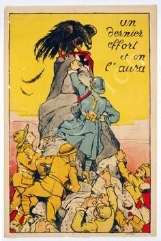 World War 1 Poster - One last effort .... $19.97, via Etsy.