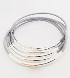 Horizon Leather Bangles -$23