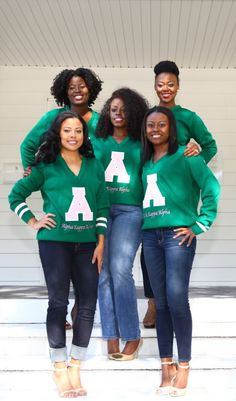 Exclusive Alpha Kappa Alpha Vintage Varsity Sweater: Fashionably Greek is bringing Old Skool back with a twist Don't want the same sweater as everyone else, don't worry it's a limited edition so get yours today. *This item is designed to be a little oversized. If you would like a fitted look, we recommend going down one size.