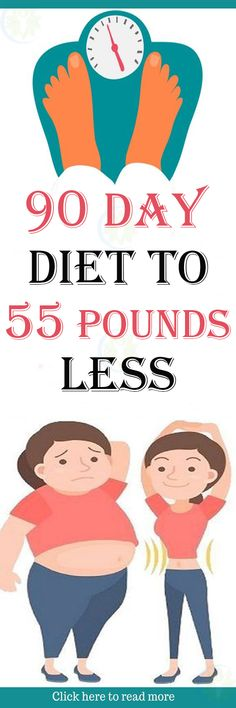 90 Day Diet to 55 Pounds Less - Best Healthy Advice
