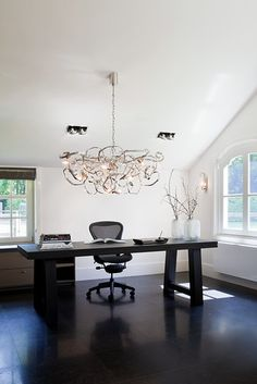 Modern luxury chandelier DELPHINIUM. For modern lighting inspiration for your office projects, private interior lighting or commercial office lighting projects, please visit our website www.brandvanegmond.com #modernlightinginspiration #decorativelighting #modernlightingideas