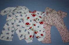 Three Pajamas for Babies 1950s