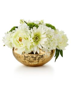 Slivers+of+Gold+Faux-Floral+Arrangement+by+John-Richard+Collection+at+Neiman+Marcus.
