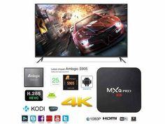 KM5 Quad Core ANDROID SMART TV IPTV BOX KEYBOARD MOUSE KODI HD 4K NETFLIX WIFI