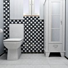 Shop for SomerTile 12.5x12.5 Knight Matte Black/ White Checkerboard Porcelain Floor and Wall Tile (Case of 10). Get free delivery at Overstock.com - Your Online Home Improvement Shop! Get 5% in rewards with Club O!