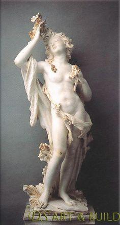 "falsefangs: "" Hyacinth & Venus by Filippo Parodi (Genoa, italy "" Roman Sculpture, Sculpture Art, Stone Sculptures, Monument Men, Italian Sculptors, Baroque Art, Cleveland Museum Of Art, Historical Art, Vanitas"