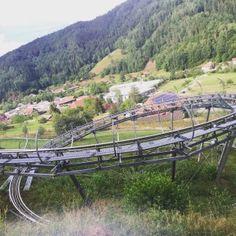 The Sommerrodelbahn Gutach in Gutach, Germany