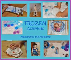 Frozen Theme #totschool from Memorizing the Moments