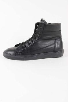 Versace 19.69 Abbigliamento Sportivo Srl Milano Italia Mens Sneaker V510 SAUVAGE NERO