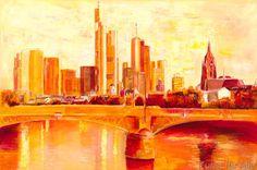 Petra Schüßler - Skyline Frankfurt am Main
