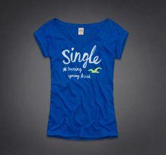 Hollister single during spring break shirt