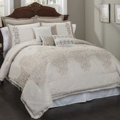 Aubrey 10-pc. Comforter Set - Queen