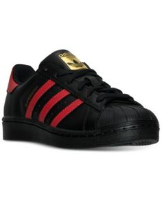 adidas Big Boys  Superstar Casual Sneakers from Finish Line Kids - Finish  Line Athletic Shoes - Macy s f7ea4bab373