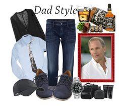 """Dad Style"" by fantasiegirl ❤ liked on Polyvore featuring rag & bone, Forzieri, Maison Margiela, Goldsign, NIKE, Melissa, John Varvatos, Jura, Rolex and Alexander McQueen"