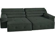 8 sofás com assento retrátil - Casa