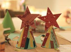 divinas para decorar la mesa de navidad