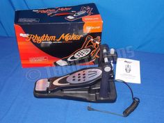 Blockhead Rhythm Maker Drum Pedal For Rock Band XBox 360 PS2 PS3 Wii Block Head #Microsoft