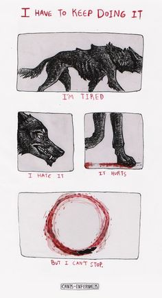 doodle about my experience with Obsessive Compulsive Disorder canis-infernalis.tumblr.com/po…