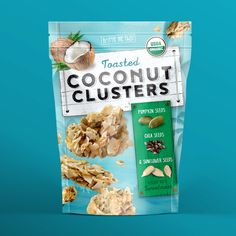 Pivot Marketing, Inc. - Toasted Coconut Clusters PACKAGING DESIGN World Packaging Design Society│Home of Packaging Design│Branding│Brand Design│CPG Design│FMCG Design