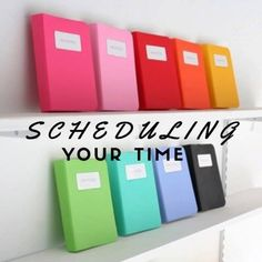 Tips & Tricks To Schedule Your Time Better