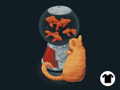 Goldfish Dispenser for $11 - $14