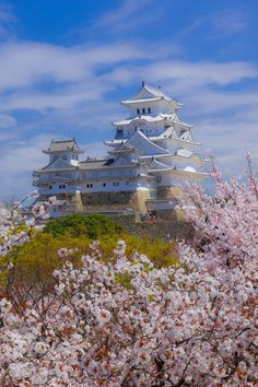"by 写真共有サイト Himeji Castle, Hyogo, Japan. Also known as Shirasagi-jo ""white heron castle. Also known as Shirasagi-jo ""white heron castle. Hyogo, Beautiful Castles, Beautiful Places, Himeji Castle, Japon Tokyo, Japanese Castle, Asian Architecture, Japanese Landscape, Visit Japan"