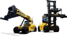 Reach Stacker or Container Handler?
