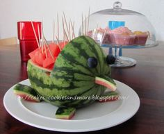 Cakes, Cookies and more: Wassermelonen - Igel