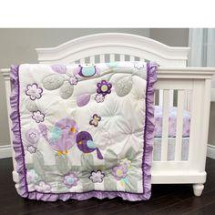 Baby's First Love Birds 3-piece Crib Bedding Set