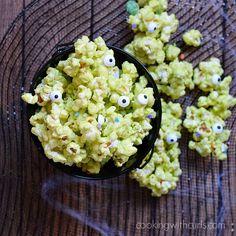 Monster Munch Popcorn | cookingwithcurls.com