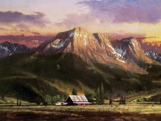Thomas Kinkade artwork