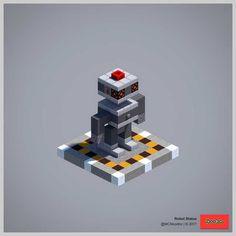 Post with 24488 views. Minecraft Museum, Minecraft Temple, Minecraft Statues, Minecraft Garden, Minecraft Castle, Minecraft Plans, Minecraft Tutorial, Minecraft Blueprints, Minecraft Designs
