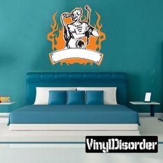 Golf Wall Decal - Vinyl Sticker - Car Sticker - Die Cut Sticker - SMcolor003