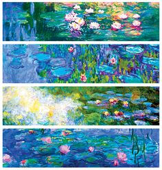 Claude Monet»Water Lilies