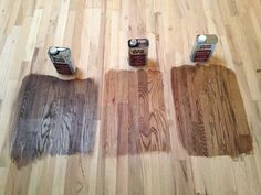 Exceptional Minwax Stains From Left To Right: Antique Brown, Early American, Provincial  More