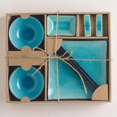 http://www.houzz.com/photos/1479914/10-pc-Aqua-Crackle-Sushi-Set-modern-dinnerware-