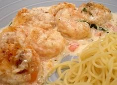 Copycat Cheesecake Factory Shrimp Scampi this is my ABSOLUTE favorite recipe EVER!! I've made it no less than a dozen times and it has come out perfect EVERY time. I made it with chicken once (rather than shrimp) and it STILL turned out phenom...