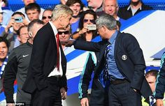He appeared to have a dig at Arsenal boss Arsene Wenger, who has clashed with Mourinho in ...