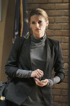 Stana Katic in Castle - Rise