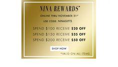 NinaShoes discount codes