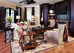 Parker House - mediterranean - Family Room - Dallas - Kim Armstrong