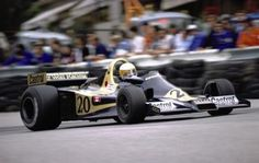 Jody Scheckter in his Wolf Ford-Cosworth wins the 1977 Monaco Grand Prix