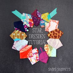 snips snippets: Star Dresden Tutorial - I can't wait to make this!