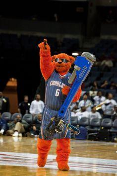 Charlotte Bobcats Mascot Rufus