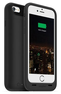 Mophie+'juice+pack+plus'+iPhone+6+charging+case+available+at+#Nordstrom