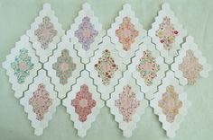 My Accidental Summer Project - Pretty by Hand - Pretty By Hand Quilting Projects, Quilting Designs, Sewing Projects, Quilting Tutorials, Paper Piecing Patterns, Quilt Patterns, Hexagon Quilt Pattern, Vintage Quilts, Vintage Sewing