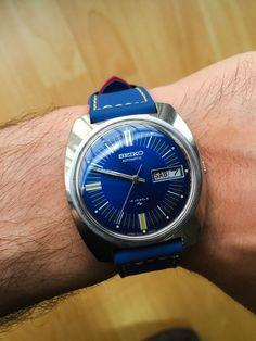 Beautiful Seiko 7006 8060 Automatic wristwatch, vintage