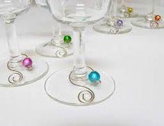 Wine charms - single loop!