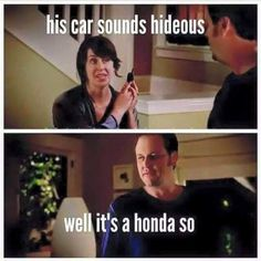 his car sounds hideous. well it's a honda so...